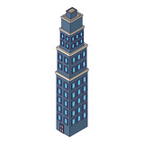 Company building isometric - 237786293