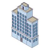 Company building isometric - 237786456