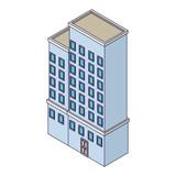Company building isometric - 237786458