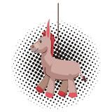 Donkey pinata cartoon