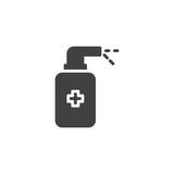 Medicine spray vector icon. filled flat sign for mobile concept and web design. Medical dispenser bottle simple solid icon. Aerosol drugs symbol, logo illustration. Pixel perfect vector graphics - 237827423