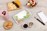 Healthy food composition with tablet - 237827627