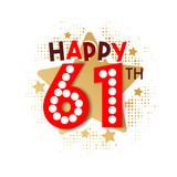 Happy 61th Birthday - 237827820