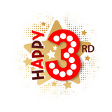 Happy 3rd Birthday - 237828004