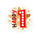 Happy 1st Birthday - 237828009