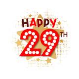 Happy 29th Birthday - 237828094