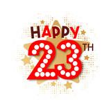 Happy 23th Birthday - 237828097