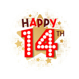Happy 14th Birthday - 237828243
