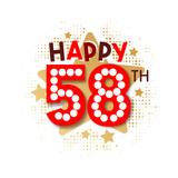 Happy 58th Birthday - 237828246