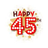 Happy 45th Birthday - 237828403
