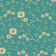Seamless pattern with a floral pattern. - 237831417