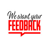 We want your feedback - 237835240