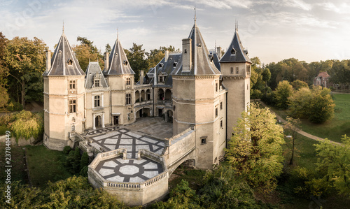 Castle in Gołuchów, Wielkopolska ( Greater Poland ) tourist attraction.