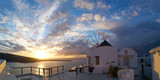 Panorama of Santorini during sunset - 237869642