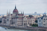 Parliament building is the business card of Budapest - 237889084