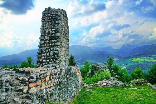 Castle ruins in Slovenia