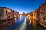Canal Grande bei Nacht, Venedig, Italien