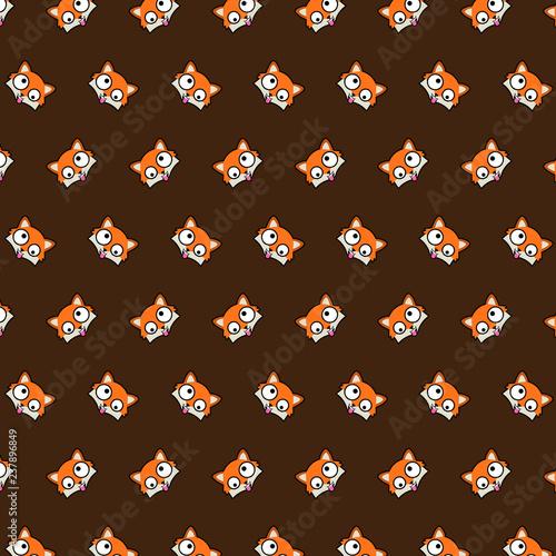 Fox - emoji pattern 62 - 237896849