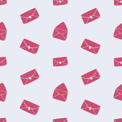 Envelope Seamless Pattern © Juliya