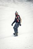 Enjoying In Snowboarding