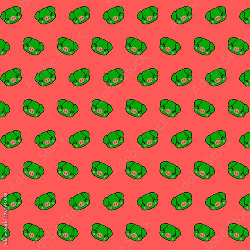 Piggy - emoji pattern 70 - 237933689