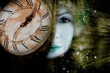 Old watch shows midnight