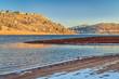 Horsetooth Reservoir in winter