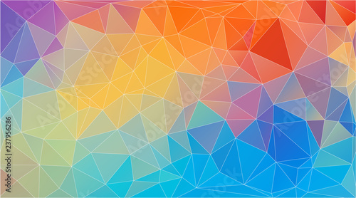 Flat Triangle Multicolor Geometric Wallpaper Buy Photos Ap