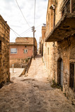 old city streets in  the middle east . Mardin is a historical city in Southeastern Anatolia, Turkey.