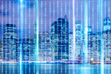 Concept of modern digital city and innovation - 237960435