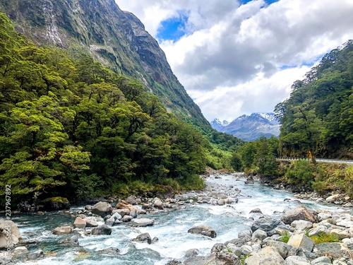 Foto Murales la petite cascade