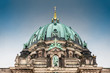 Supreme Parish and Collegiate Church or also called Berlin Cathedral on a cold end of winter day