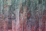 abstract shabby natural quartzite stone bricks texture for background use.
