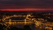 Budapest by Night 02 (4k UHD time lapse)