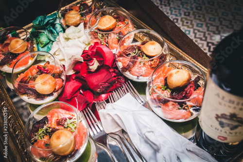 salad with seafood - 238015244