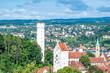 Leinwanddruck Bild - Ravensburg im Schwabenland