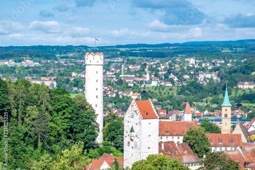 Leinwanddruck Bild Ravensburg im Schwabenland