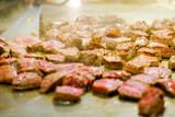 Kobe steak on the hot pan in Japan - 238062821