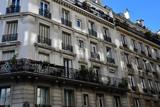Paris; France - november 30 2018 : building in Saint Maur street