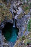 Wasserlauf unter der Marienbrücke im Allgäu - 238075653