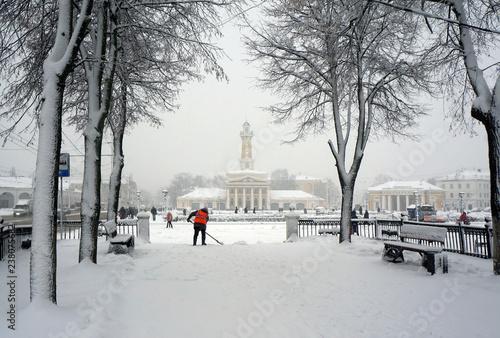 Fototapeta Winter Kostroma