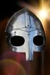 casque de chevalier du moyen-âge - 238097416