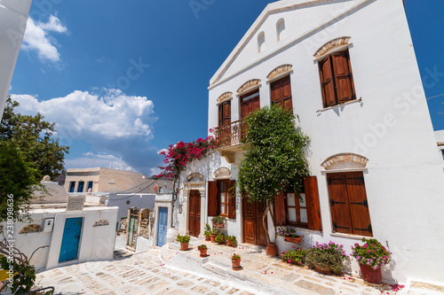 Scene from Aegean island Tinos, Greece