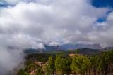 Fog approaching on Gran Canarias second highest peak: Pico de las Nieves