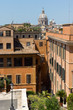Quadro Amazing view of Spanish Steps and Piazza di Spagna in city of Rome, Italy