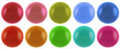 Boutons couleurs