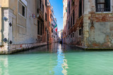 Venice Canal and traditional buildings  - Venice, Italy