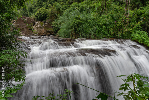 A waterfall from Sri Lanka