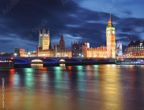 Big Ben i Houses of Parliament, Londyn, Wielka Brytania