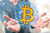 Concept of bitcoin currency - 238167628